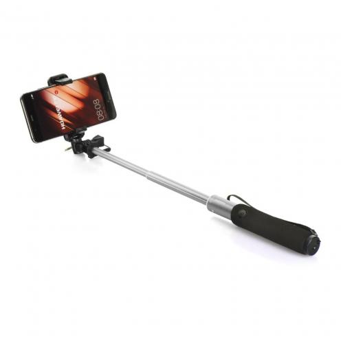 Selfie stick combo Remax P5 jack 3,5mm Argent