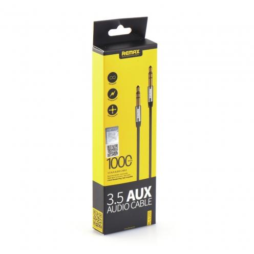 REMAX 3.5mm Aux Jack Cable L100 1m Noir