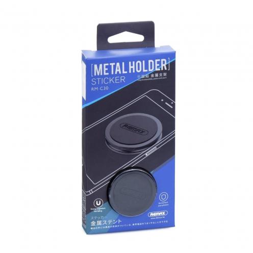 REMAX Support Voiture Magnétique RM-C30 Noir