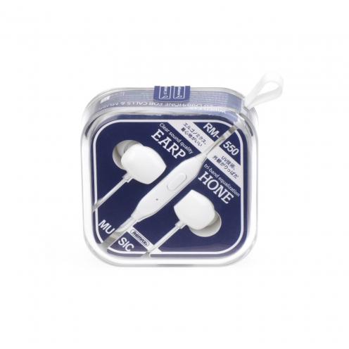 REMAX Ecouteurs RM-550 Blanc