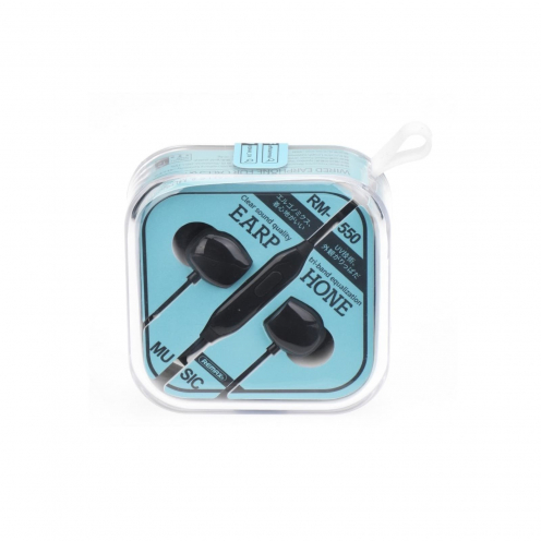 REMAX Ecouteurs RM-550 Noir