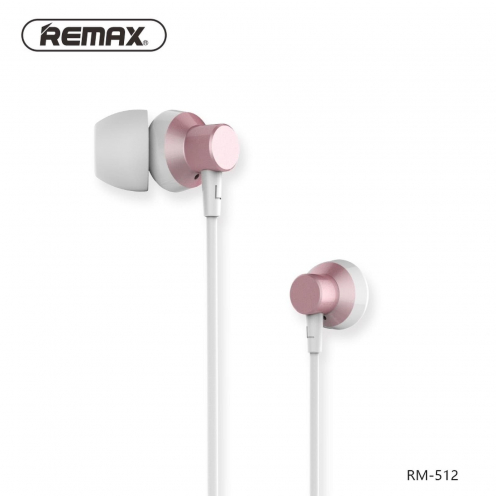 REMAX Ecouteurs RM-512 Rose