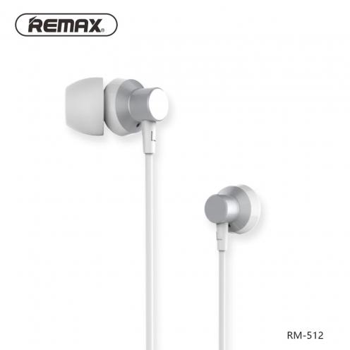 REMAX Ecouteurs RM-512 Argent