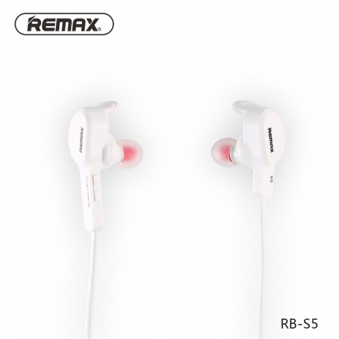 REMAX Ecouteurs Bluetooth SPORTY RB-S5 Blanc
