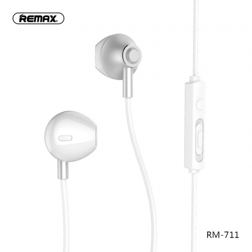 REMAX Ecouteurs RM-711 Argent