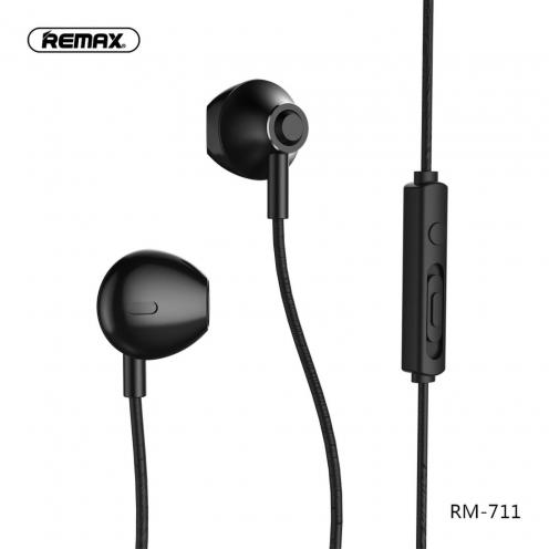 REMAX Ecouteurs RM-711 Noir