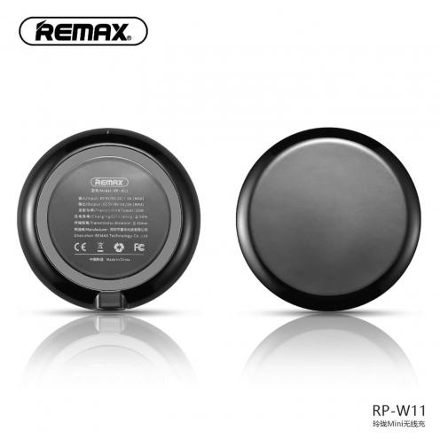 REMAX Chargeur Sans Fil Linion Quick Charge Qi RP-W11 Noir