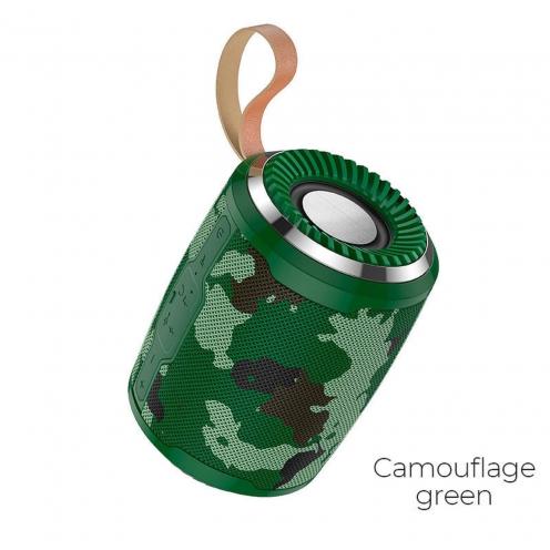 Hoco© BS39 Cool sports Enceinte Bluetooth camouflage Vert