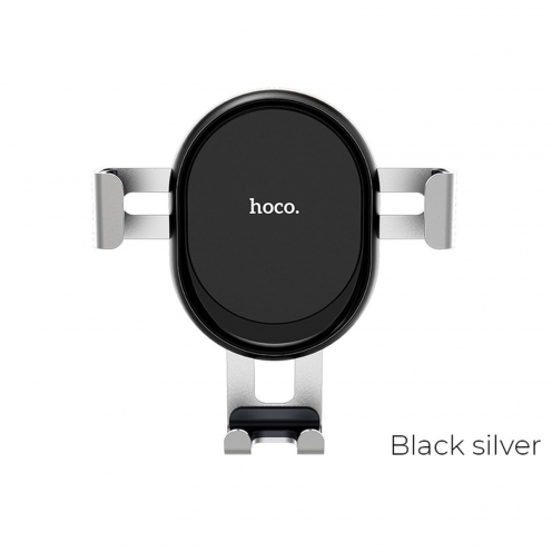 HOCO Support Voiture gravity pour air outlet CA56 Metal armour silver