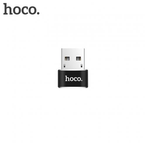 HOCO adaptateur OTG USB - Type C UA6 Noir