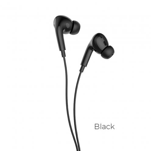 Hoco® L10 Acoustic Ecouteurs Filiaires Type-C avec micro Noir