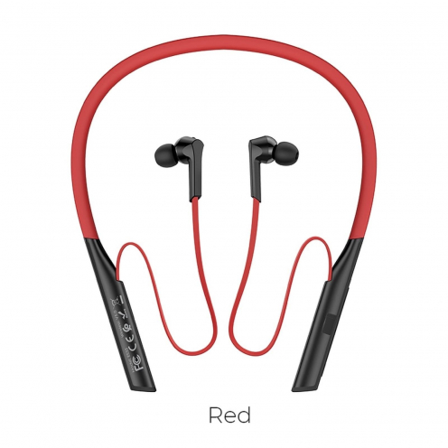 Hoco® écouteurs bluetooth ES33 Mirth sports Rouge