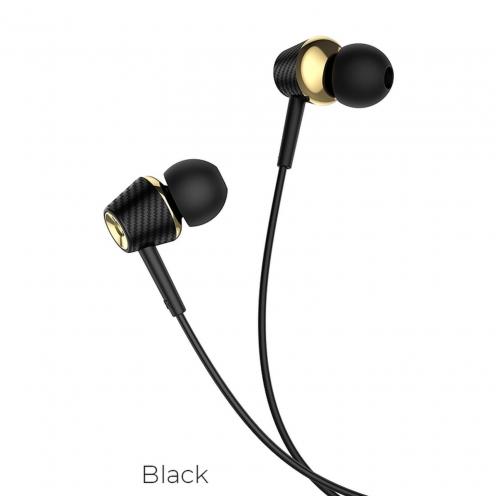 Hoco® Ecouteurs Universels Gracefull avec micro M70 Noir