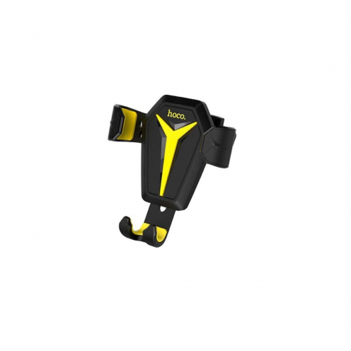 HOCO Support Voiture gravity pour Grille de Ventilation Kingcrab CA22 Noir-yellow