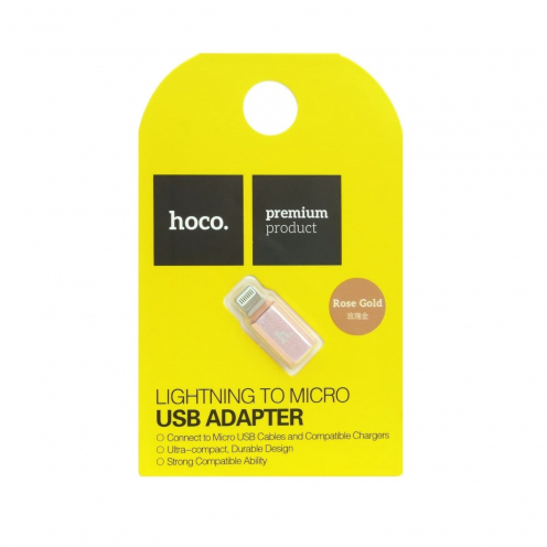 HOCO Micro USB to connecteur Lightning