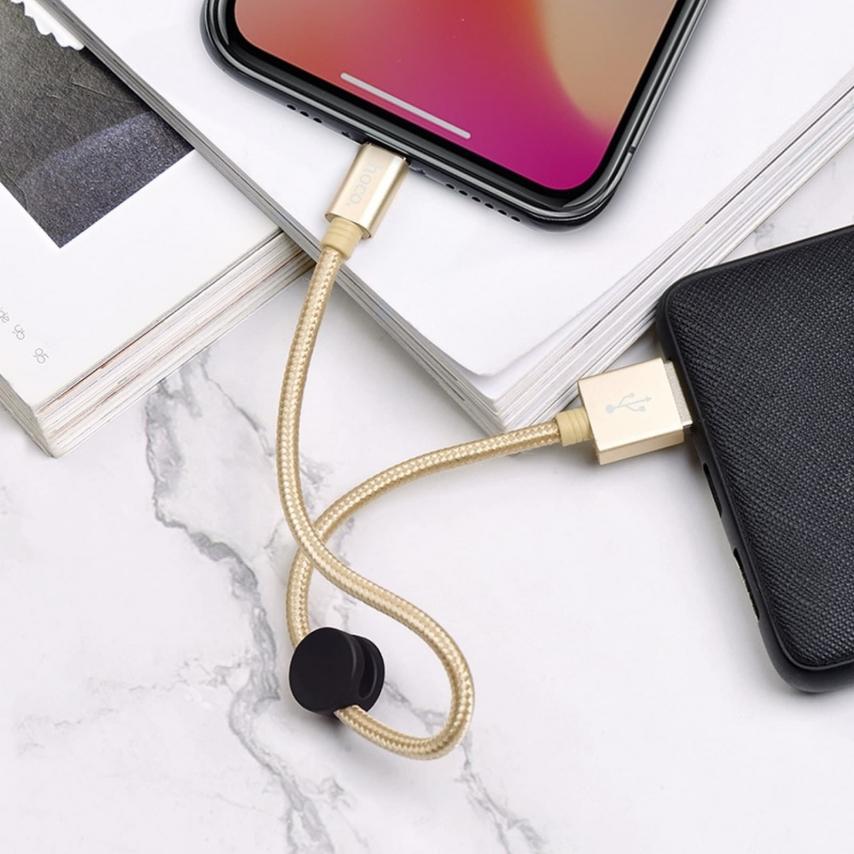 HOCO Câble Premium charging Câble Data pour iPhone Lightning X35 25cm Or