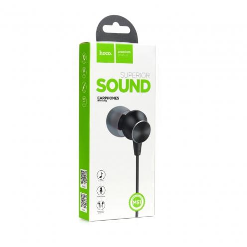 HOCO Ecouteurs Proper sound avec Micro M51 Noir
