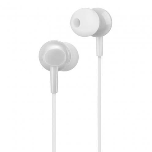 HOCO Ecouteurs inital sound universal avec Microro M14 Blanc