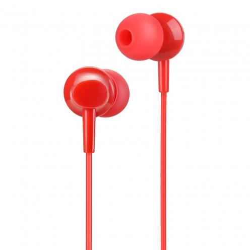 HOCO Ecouteurs inital sound universal avec Microro M14 rouge