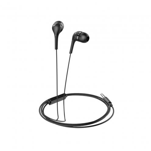 HOCO Ecouteurs Drumbeat universal avec Micro M40 Noir