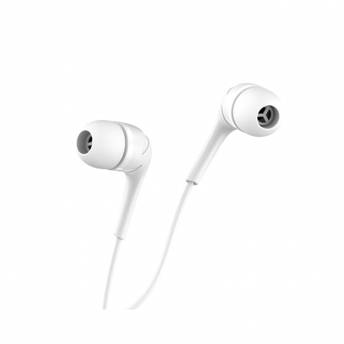 HOCO Ecouteurs Drumbeat universal avec Micro M40 Blanc