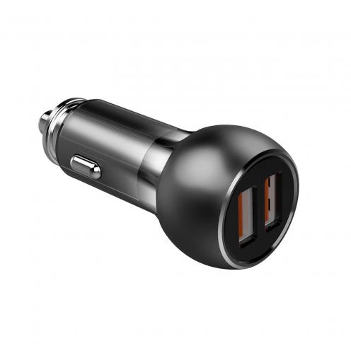 Chargeur Voiture LDNIO C503Q Quick Charge 3.0 avec double USB socket 3A + Micro USB Câble