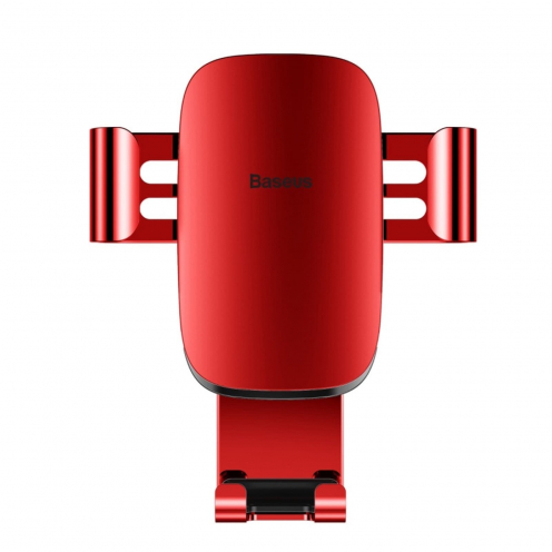 BASEUS Support Voiture Metal Age Gravity Car Mount Red SUYL-D09