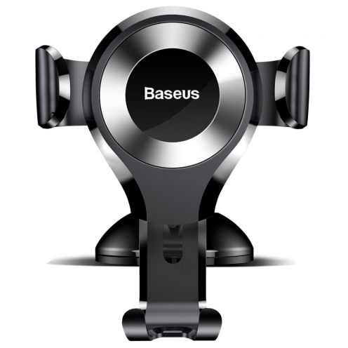 BASEUS Support Voiture Osculum Type Gravity Car Mount Black-Silver SUYL-XP0S