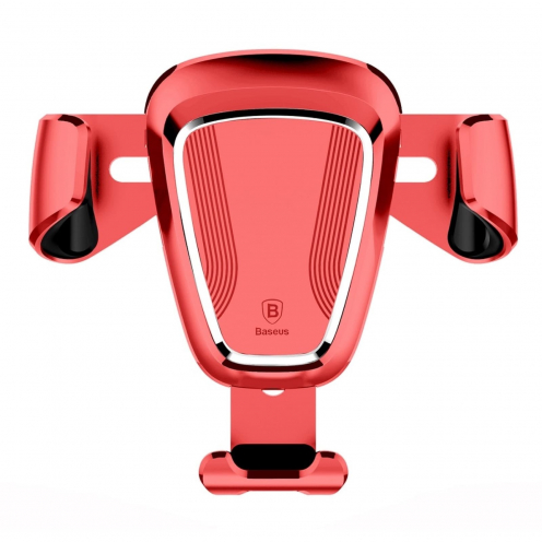 BASEUS Support Voiture Gravity Car Mount Red SUYL-0V