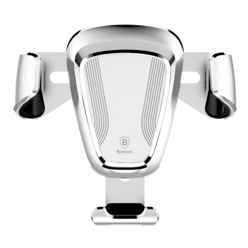 BASEUS Support Voiture Gravity Car Mount Silver SUYL-0S