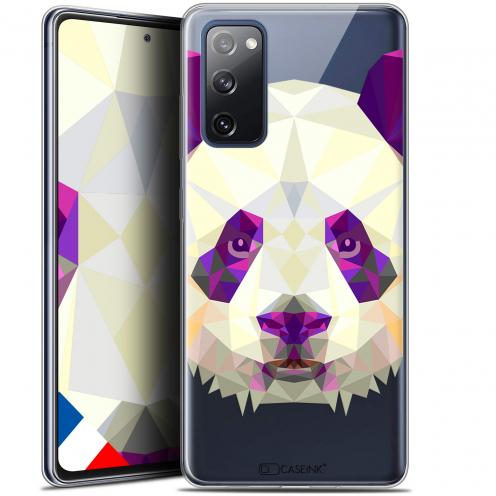 """Coque Gel Samsung S20 FE (6.5"""") Extra Fine Polygon Animals - Panda"""