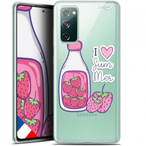 "Coque Gel Samsung S20 FE (6.5"") Extra Fine Motif - Milky Summer"