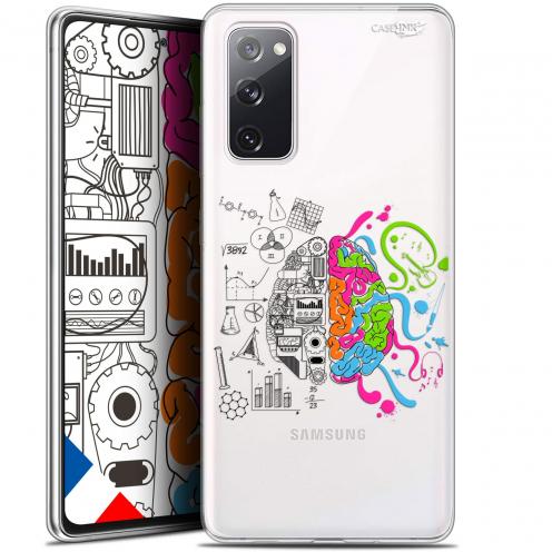 "Coque Gel Samsung S20 FE (6.5"") Extra Fine Motif - Le Cerveau"