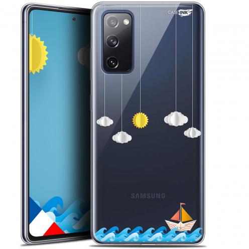 "Coque Gel Samsung S20 FE (6.5"") Extra Fine Motif - Petit Bateau en Mer"