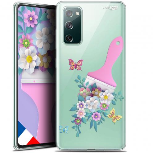"Coque Gel Samsung S20 FE (6.5"") Extra Fine Motif - Pinceau à Fleurs"