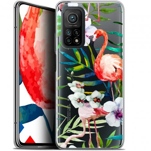 "Coque Gel Xiaomi Mi 10T / 10T Pro 5G (6.67"") Watercolor - Tropical Flamingo"