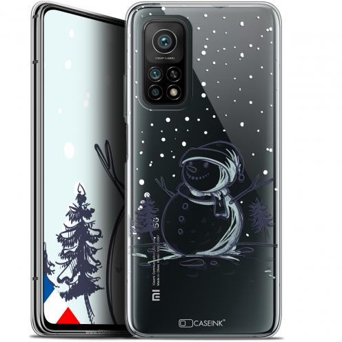 """Coque Gel Xiaomi Mi 10T / 10T Pro 5G (6.67"""") Noël - Bonhomme de Neige"""