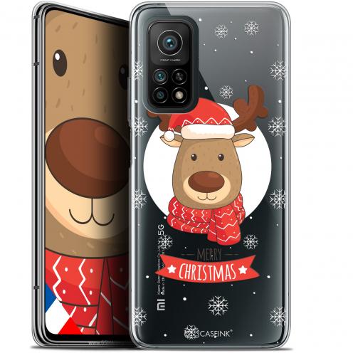 """Coque Gel Xiaomi Mi 10T / 10T Pro 5G (6.67"""") Noël - Cerf à Echarpe"""