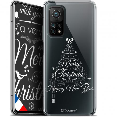 """Coque Gel Xiaomi Mi 10T / 10T Pro 5G (6.67"""") Noël - Calligraphie"""
