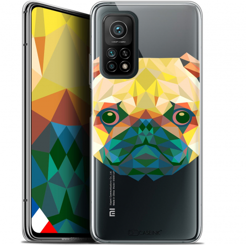 "Coque Gel Xiaomi Mi 10T / 10T Pro 5G (6.67"") Polygon Animals - Chien"