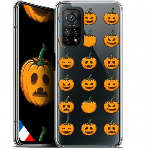 "Coque Gel Xiaomi Mi 10T / 10T Pro 5G (6.67"") Halloween - Smiley Citrouille"