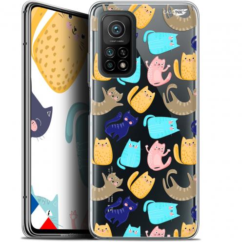 "Coque Gel Xiaomi Mi 10T / 10T Pro 5G (6.67"") Motif - Chat Danse"