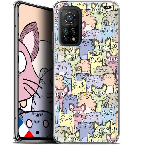"Coque Gel Xiaomi Mi 10T / 10T Pro 5G (6.67"") Motif - Foule de Chats"