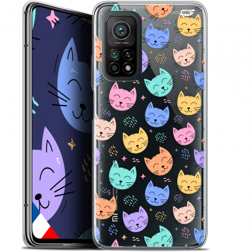 "Coque Gel Xiaomi Mi 10T / 10T Pro 5G (6.67"") Motif - Chat Dormant"