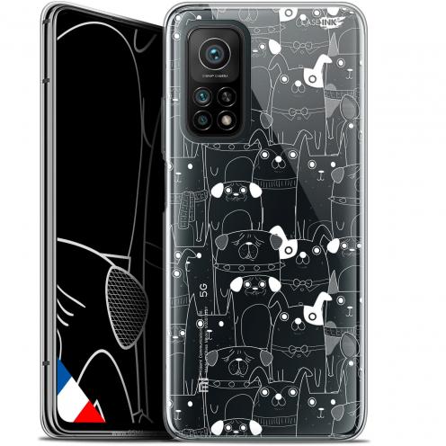 """Coque Gel Xiaomi Mi 10T / 10T Pro 5G (6.67"""") Motif - Chien Blanc"""