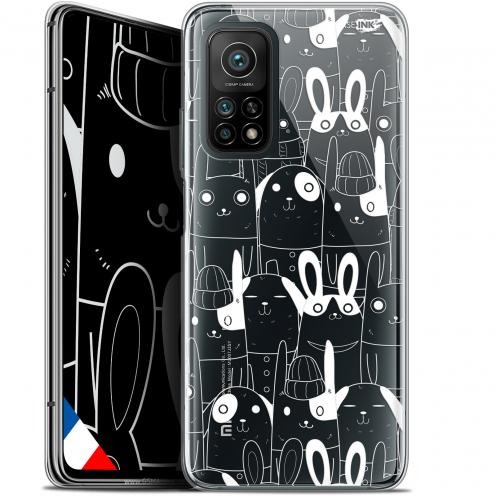 "Coque Gel Xiaomi Mi 10T / 10T Pro 5G (6.67"") Motif - Lapin Blanc"