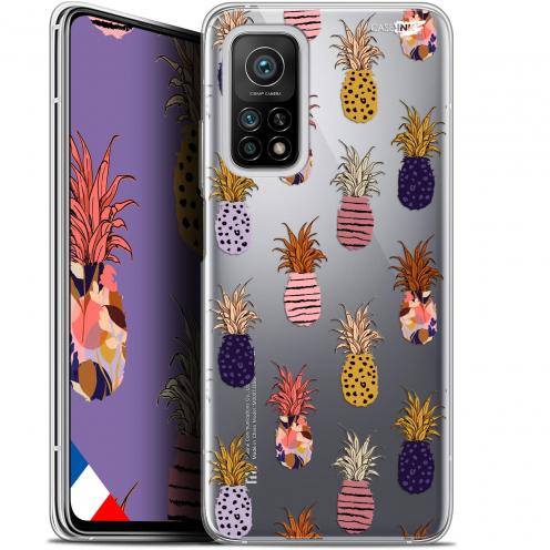 """Coque Gel Xiaomi Mi 10T / 10T Pro 5G (6.67"""") Motif - Ananas Gold"""