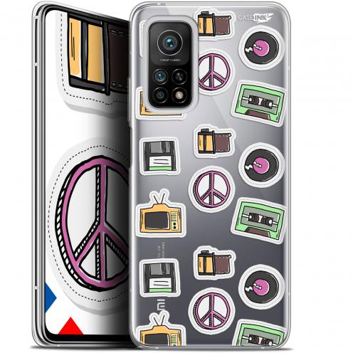 """Coque Gel Xiaomi Mi 10T / 10T Pro 5G (6.67"""") Motif - Vintage Stickers"""