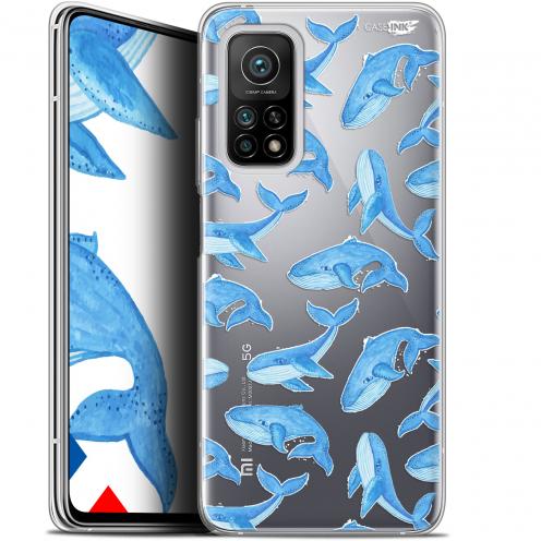 """Coque Gel Xiaomi Mi 10T / 10T Pro 5G (6.67"""") Motif - Baleines"""