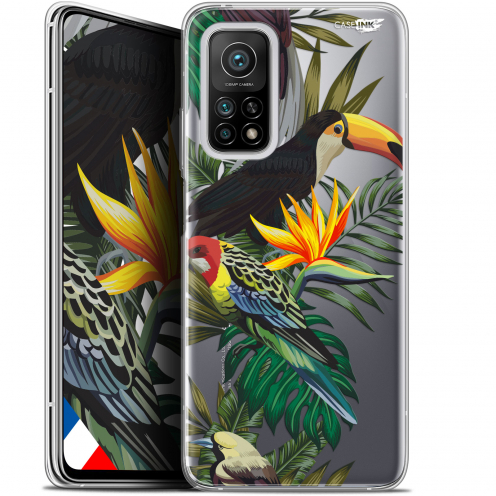 "Coque Gel Xiaomi Mi 10T / 10T Pro 5G (6.67"") Motif - Toucan Tropical"